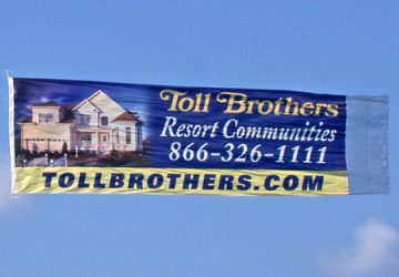 Aerial Advertising  Sign Towing Rehoboth Beach DE